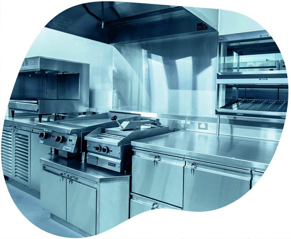 برش لیزر استیل خم ورق استیل- تجهیزات آشپزخانه